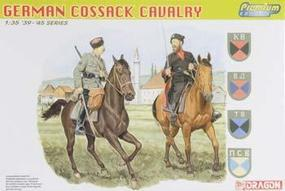 DML German Cossack Cavalry (2 Mtd) Plastic Model Military Figure 1/35 Scale #6410