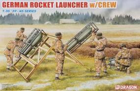 DML German Rocket Launcher & Crew Plastic Model Military Diorama Kit 1/35 Scale #6509