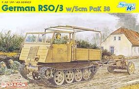 DML German RSO/03 w/5cm PaK 38 Gun Plastic Model Military Vehicle 1/35 Scale #6684