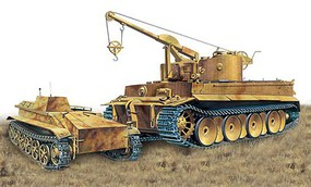 DML Bergepanzer Tiger I s.Pz.Abt.508 Demolition Plastic Model Military Vehicle Kit 1/35 #6865