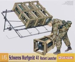 DML Schweres Wurfgerat 41 Rocket Launcher Plastic Model Weapons Kit 1/6 Scale #75007