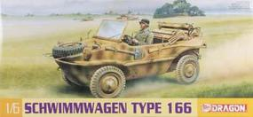 DML Schwimmwagen Type 166 Plastic Model Military Vehicle Kit 1/6 Scale #75013