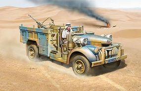 DML Long Range Desert Group Patrol Car Plastic Model Military Patrol Car Kit 1/72 Scale #7504