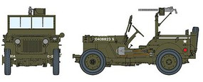 DML 1/4-Ton 4x4 Truck with .30 cal Machine Gun Plastic Model Kit 1/6 Scale #75050