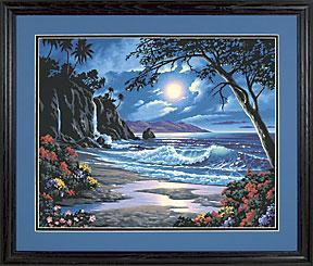 Dimensions Moonlit Paradise -- Paint By Number Kit -- #91185