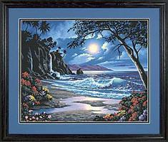 Dimensions Moonlit Paradise Paint By Number Kit #91185
