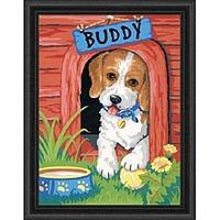 Dimensions Cute Puppy Paint By Number Kit #91396
