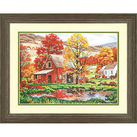Dimensions Friends of Autumn Paint By Number Kit #91475