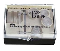 Donegan-Optical Eyeglass Loupe 4X