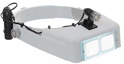 Donegan Optical Company Visorlight with battery pack 10' -- Magnifier -- Optical Accessory -- #lt06