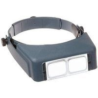 Donegan-Optical OptiVisor LX Binocular Headband Magnifier w/Acrylic Lens Plate #3 1.75x Power at 14