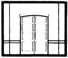 Design-Preservation Loading Door HO Scale Model Railroad Building Accessory #30102