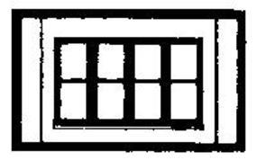 Design-Preservation One Story Victorian Window HO Scale Model Railroad Building Accessory #30147