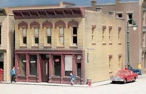 Design-Preservation Hayes Hardware Kit (2-1/2 x 3-1/4) N Scale Model Railroad Building #50200