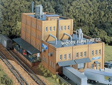Woods Furniture Co Kit 11 X 7 N Scale Model Railroad Building 66000 By Design