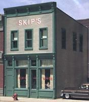Design-Preservation Skips Chicken & Ribs Kit HO Scale Model Railroad Building #woo10500