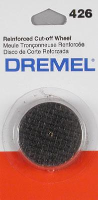 Dremel Mfg. Co. Fiberglass H/D Cut-Off Wheel (5) -- Rotary Power Tool Sanding Cut Off Wheel -- #426