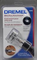 Dremel Mini Saw Attachment Rotary Tool Power Tool Attachment #670-01