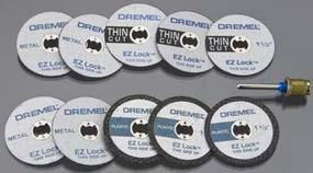 Dremel EZ Lock Cutting Kit (11) Rotary Power Tool Sanding Cut Off Wheel #ez688-01