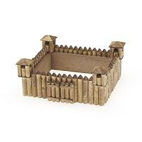 Darice Frontier Fort Wooden Model Kit (5''x4'') -- Wooden Construction Kit -- #918123