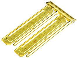 Detail-Assoc Sunshade Brass EMD Wd 2/ - HO-Scale (2)
