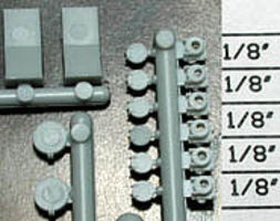 Detail-Assoc Ditch Light & MU Stand SP - HO-Scale