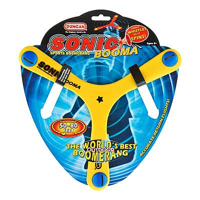 Duncan Toys Sonic Booma Sports Boomerang -- Flying Toy -- #3655xw