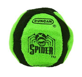 Duncan Toys Spider 6 Panel Sand Filled Footbag -- Novelty Toy -- #3906sa
