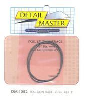 Detail-Master 2 ft. Race Car Ignition Wire Grey Plastic Model Vehicle Accessory Kit 1/24-1/25 Scale #1052