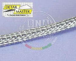 Detail-Master Braided Line #7 .100-1ft Plastic Model Vehicle Accessory Kit 1/24-1/25 Scale #1307