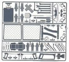 Detail-Master Interior Junk Set #2 Plastic Model Vehicle Accessory Kit 1/24-1/25 Scale #2385