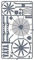 Detail-Master Electric Fan Kit Plastic Model Vehicle Accessory Kit 1/24-1/25 Scale #2390