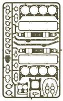 Detail-Master Gaskets Small Block Chevy Plastic Model Vehicle Accessory Kit 1/24-1/25 Scale #2430