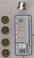 Detail-Master Tachometer Plastic Model Vehicle Accessory Kit 1/24 Scale #3220