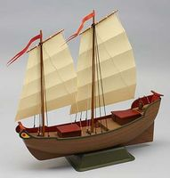 Dumas Chinese Junk Boat Wooden Boat Model Kit #1010