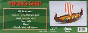 Dumas Viking Ship Wooden Boat Model Kit #1011