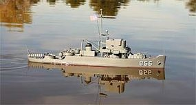 Dumas USS Whitehall RC Wooden Scale Powered Boat Kit #1252