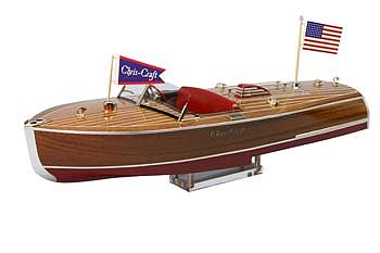'41 Chris-Craft 16' Hydroplane Kit RC Wooden Scale Powered Boat Kit #1254 by Dumas (1254)