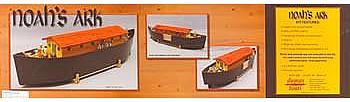 Dumas Noah's Ark Kit 34 -- Wooden Boat Model Kit -- #1262