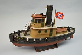 Dumas Jenny Lee Tug Kit 24 RC Wooden Scale Powered Boat Kit #1268