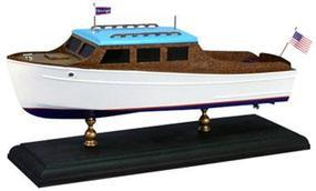 Dumas 12-1/2 1935 Chris Craft 25 Steamline Cruiser Laser Cut Kit Wooden Boat Model Kit #1706