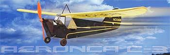 Dumas 40'' Wingspan Aeronica Wooden Aircraft Kit (suitable for elec R/C)