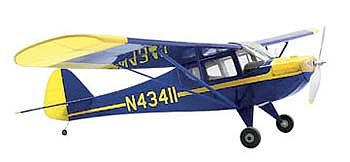 Dumas 40'' Wingspan Taylorcraft Wooden Aircraft Kit (suitable for elec R/C)