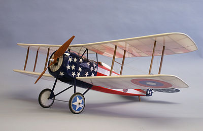 Dumas 42'' Wingspan Spad XIII Wooden Aircraft Kit (suitable for elec R/C)