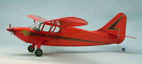 Dumas 40 Wingspan Stinson Voyager Wooden Aircraft Kit (suitable for elec R/C)