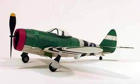 Dumas 17-1/2 Wingspan P47 Rubber Pwd Aircraft Laser Cut Kit