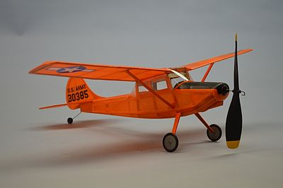 Dumas 18'' Wingspan L19 Bird Dog Rubber Pwd Aircraft Laser Cut Kit