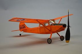 Dumas 18 Wingspan L19 Bird Dog Rubber Pwd Aircraft Laser Cut Kit