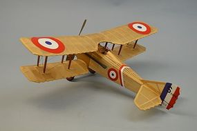 Dumas 18 Wingspan Spad VII Rubber Pwd Aircraft Laser Cut Kit