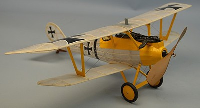 Dumas 18'' Wingspan Pfalz D3 Rubber Pwd Aircraft Laser Cut Kit